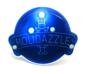 Target Holidazzle light up, flashing holiday pin