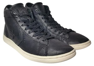John Varvatos for Converse Leather Hi Top Black Athletic