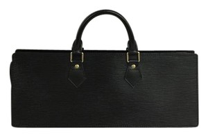 Louis Vuitton Lv Epi Sac Triangle Satchel in black