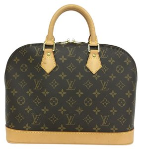 Louis Vuitton Lv Alma Pm Canvas Tote in Monogram