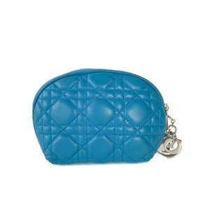 Dior Christian Dior Cannage Quilted Cosmetic Pouch