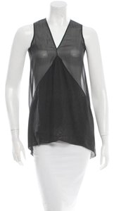 Rick Owens Edgy Silk Sheer Goth Dark Tunic