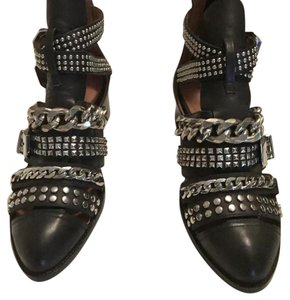 Jeffrey Campbell next level booties Black Mules