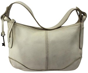 Fossil Pebbled Hobo Bag