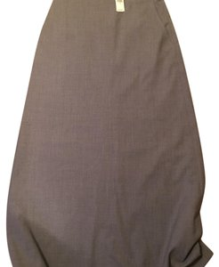 Banana Republic Maxi Skirt Gray