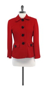 Dior Red Wool Jacket