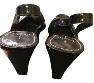 Paolo Black Sandals