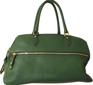 Cole Haan Leather Green Travel Bag