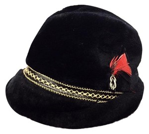 Stetson Antique Black Wool Felt Stetson Hat