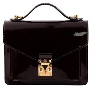 Louis Vuitton Briefcase Vernis Satchel in Amarante