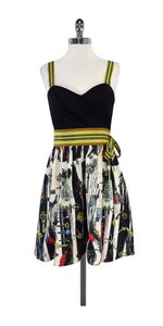Diane von Furstenberg short dress Key Print Silk Cotton on Tradesy