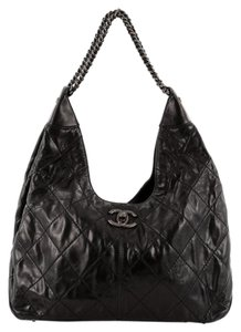 Chanel Calfskin Hobo Bag