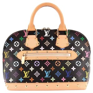 Louis Vuitton Canvas Satchel in Multicolor