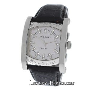 BVLGARI Autnentic Ladies Bvlgari Bulgari Assioma AA44S Diamond MOP Automatic