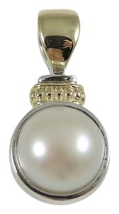 Lagos Lagos Sterling Silver 18K Yellow Mabe Pearl Caviar Enhancer