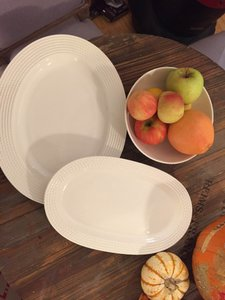 Kate Spade By Lenox Wickford Serving Platters And Bowl