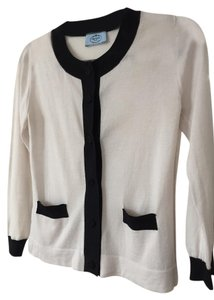 Prada Wool Silk Sweater Cardigan