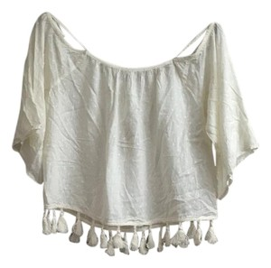 American Eagle Outfitters Top Off-white