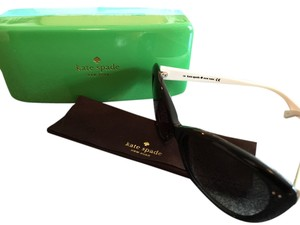 Kate Spade Classic Black And White Sunglasses