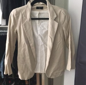Aqua Light tan Blazer