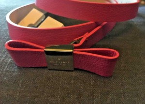 Kate Spade In the Loop Bow Leather Belt XL