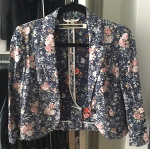 Daughters of the Liberation Floral Blazer