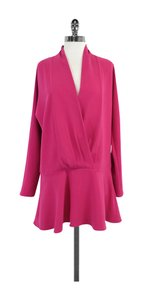 Thakoon short dress Fuchsia Neckline on Tradesy