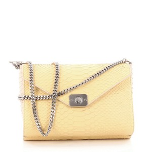 Mulberry Snake Skin Shoulder Bag
