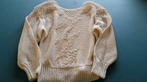 Nannell Vintage Beaded Sweater
