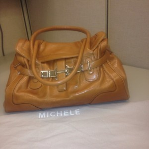 Michele Satchel in Tan