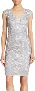 Sue Wong Sheath Beaded Dress