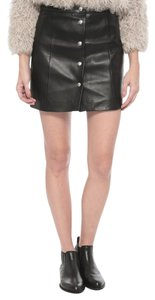 IRO Isabel Marant Rag & Bone Tory Burch The Row Mini Skirt Black