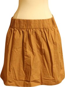 J.Crew Mini Skirt Camel Brown