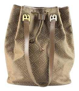 Bally Noe Drawstring Hobo Randonnee Shoulder Bag
