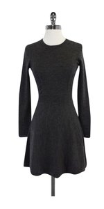 Theory short dress Grey Wool Sweater on Tradesy