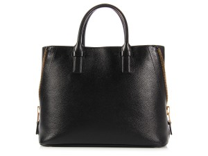 Tom Ford Tf.k0930.06 Leather Zipper Ghw Top Handle Tote