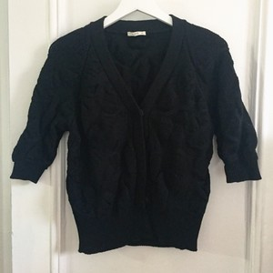 Prada Wool Black Cardigan