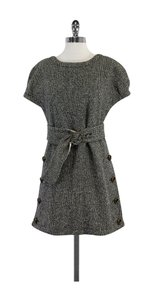 Marc by Marc Jacobs short dress Black White Wool Shift on Tradesy