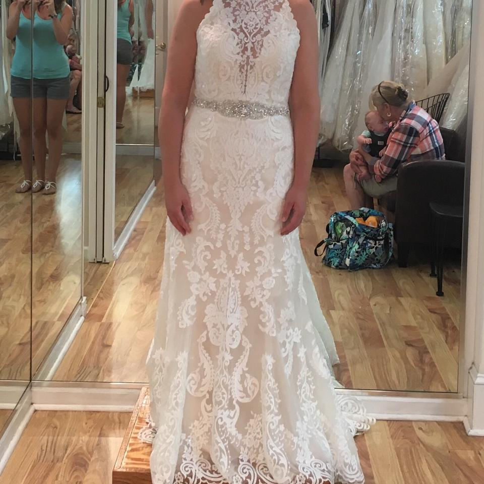 a013b116 Sottero and Midgley Ivory Over Light Gold The Winifred Vintage Wedding Dress