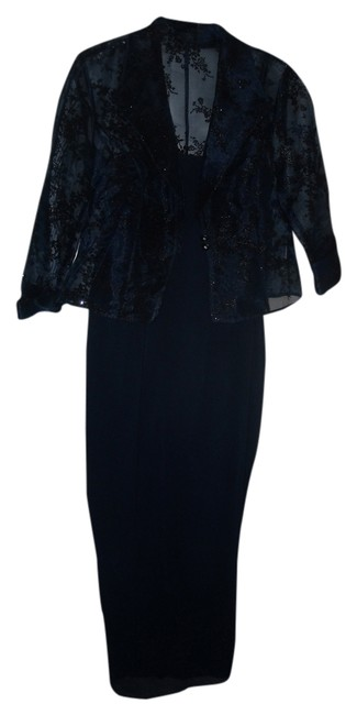 Preload https://item2.tradesy.com/images/r-and-m-richards-dark-blue-long-formal-dress-size-petite-8-m-1994346-0-0.jpg?width=400&height=650