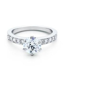 Tiffany & Co. Tiffany & Co 0.93ct E Vvs2 The Tiffany(r) Setting Round Diamond Engagement Ring