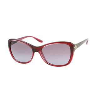 BVLGARI New Bvlgari BG 8127B Cherry Red Rectangular Sunglasses 2016