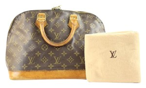 Louis Vuitton Classic Speedy Keepall Satchel
