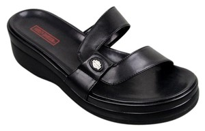 Harley Davidson Women's Black Sandals
