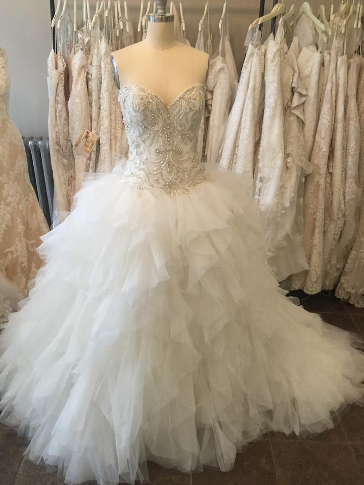 Maggie sottero castalia marie wedding dress on sale 31 for Maggie sottero wedding dress sale