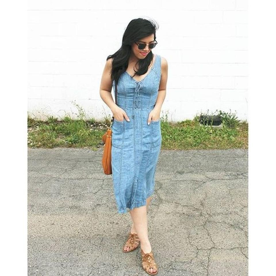 5f7e6ca45ae2 Anthropologie Atoll Denim By Holding Horses Mid-length Short Casual ...