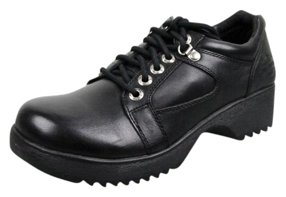 2163b851b28e Harley Davidson Black New Women s Tommi Lace Oxford 83057 Boots Booties