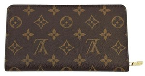 Louis Vuitton #9112 Monogram Zippy Large Long zip around Wallet