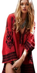 Free People Embroidery Gauzy Tunic