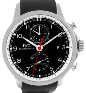 IWC IWC Portuguese Yacht Club Chronograph Mens Watch IW390210 Box Papers